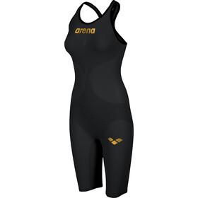 arena Powerskin Carbon Air 2 Kombinezon z zabudowanymi plecami i z krótkimi nogawkami Kobiety, czarny